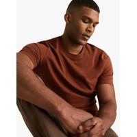 Marks & Spencer - Kaos Pria - Pure Cotton Crew Neck T-Shirt MSS5311M