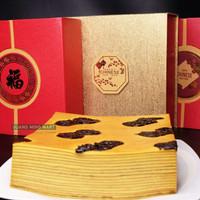 Kue Lapis Legit Prunes Vegetarian Homemade Premium (Included Hard Box)