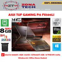 ASUS TUF GAMING F15 FX506LI - i5-10300H 8GB 512GB SSD GTX1650Ti 4GB
