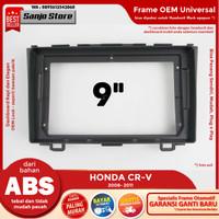 Frame OEM 2008-2011 HONDA CRV CR-V Head Unit Android 9 inch Universal