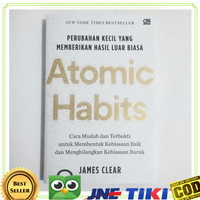 Promo Atomic Habit James Clear Limited