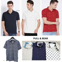 produk terlaris Pull&Bear Men Polo Shirt - Atasan Pria Original Brande