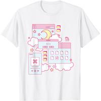 Baju Kaos Anak Vaporwave Aesthetic 90s Grunge Kawaii E-Girl Browser