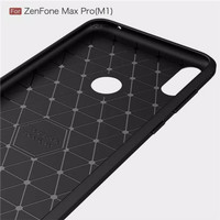 Asus Case M1iPAKY Max Pro - Hitam Zanfone Softcase Carbon