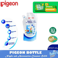 Pigeon Bottle Nipple and Accessories Cleanser 450 ml Refill