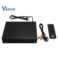 Mini USB RCA HDMI DVD Player with Romote Control EU Plug