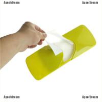 Ageofdream Kotak Tissue Basah Bahan Plastik untuk Aksesoris Mobil