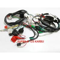 Kabel Body Kabel Bodi Supra X 125 Karbu Komplit High