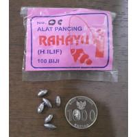 Timbel No 0C Pemberat Bandul Alat Pancing