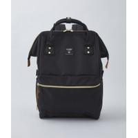anello - CROSS BOTTLE Kuchigane Backpack Regular - Black