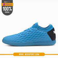 SEPATU FUTSAL PUMA ORIGINAL FUTURE 5.4 IT BLUE 10580401
