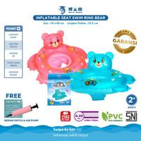 Doctor Dolphin Seat Swim Ring / Ban Renang Bayi Duduk - Pink / Blue