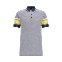 Hugo Boss Polo Shirt with Sleeve Stripes - Dark Blue