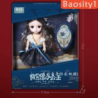Baosity1 Set Baju Boneka Bjd 16cm Gaya Cina Untuk Anak Perempuan