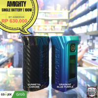 ASMODUS AMIGHTY MOD SPECIAL COLOUR 100W AUTHENTIC BY ASMODUS - HEMAT