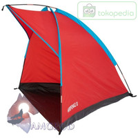 OLAHRAGA OUTDOOR HIKING JD01DD765 QUECHUA SHELTER NATURE ARPENAZ 0 RED