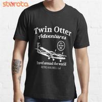 Kaos Twin Otter Adventures 3831 Baju