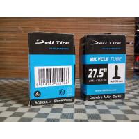 Deli Sepeda Tire Dalam Ban x Ukuran 27 5 1.75 2.125