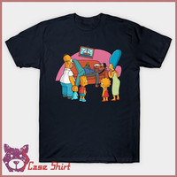 Kaos What Is This%2C A Crossover Episode Maggie Simpson Bart B T-Shirt