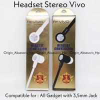 HANDPHONE & AKSESORIS BLUETOOTH & HEADSET HEADSET VIVO Y15 Y21 Y31 Y51