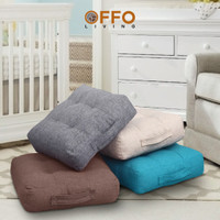 Offo Living - Bantal Alas Duduk Tebal 18 Cm Kotak 50X50Cm Busa Empuk