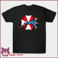Kaos The Adventures Of Leon Kennedy Resident Evil T-Shirt