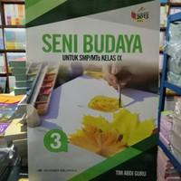 Buku SMP Seni Budaya Kelas 9 Erlangga