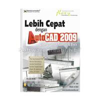 Bamboomedia CD Video Tutorial Lebih Cepat Dengan AutoCAD 2009 -