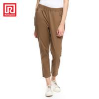 Ramayana - JJ Jeans - Celana Chinos Panjang Big Size Coklat - 32