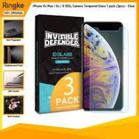 Ringke iPhone Xs Max Xs X IDGL Camera Tempered Glass Anti Gores 1 pack