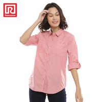 Ramayana - JJ Jeans - Kemeja Basic Saku Rempel 71293r Pink - L