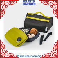 Tempat Makan Tupperware-Tas Makan Tupperware Set-Lunch Box