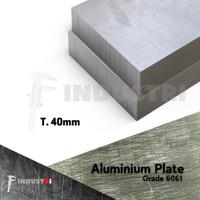 Plat Alumunium 40mm   Aluminium 6061 harga per 1 cm2