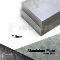 Plat Aluminium 8mm   Alumunium Plate harga per 1 cm2