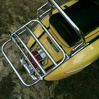 back rack madrid untuk vespa classic aksesoris vespa classic [ACC12]