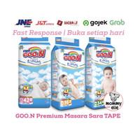 GOON TAPE MASSARA NB42 S36 M34 PREMIUM popok diapers bayi anak not
