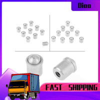 Dioo 10pcs Push Fit Ball Spring Plunger 6mm7mm Body Accessories Set
