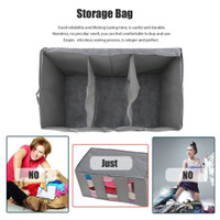 ❣New❣ 65L Storage Bag Organizer Non-woven Fabric Bamboo Clothing