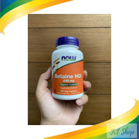 Now Foods Betaine HCL 648 mg 120 Vegetarian Capsules