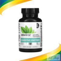 Zenwise Health Digestive Enzymes with Probiotics 60 Caps