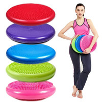 GW 33cm Yoga Gym Inflatable ity Wobble Balance Massage Pad Mat Disc