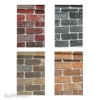 9.5m Wallpaper Modern 3D Brick Stone Mural Roll Wall Background