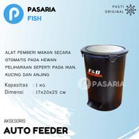 F&D AUTOFEEDER 1kg/Auto Feeder/Timer Pemberi Pakan/Makan Ikan Otomatis