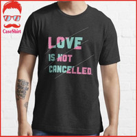 Kaos Love Is Not Cancelled Best Ideas Valentines Day Coup 7364 T-Shirt