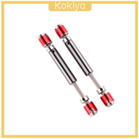2pcs Metal Universal Drive Shaft 110-138mm For RC Axial SCX10 D90