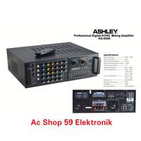 AMPLIFIER MIXING ASHLEY KA-6500 PROFESSI0NAL DIGITAL ECHO AMPLIFIER