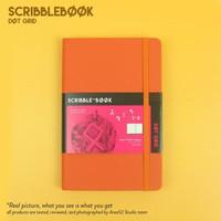 Promo HOT Scribebook Dot Grid Bullet Journal Planner by Area52 Cobalt