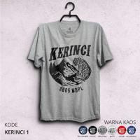 Kaos Gunung KERINCI - Baju Pendaki Petualang & Traveler
