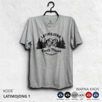 Kaos Gunung LATIMOJONG - Baju Pendaki Petualang & Traveler