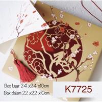 K7725 Kotak Isi 5 FU Imlek Sincia Sakura Nastar Lapis Legit Kue